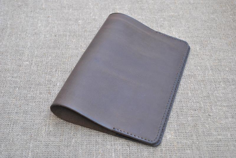 Кожаная обложка для блокнота формат А5 B08-450