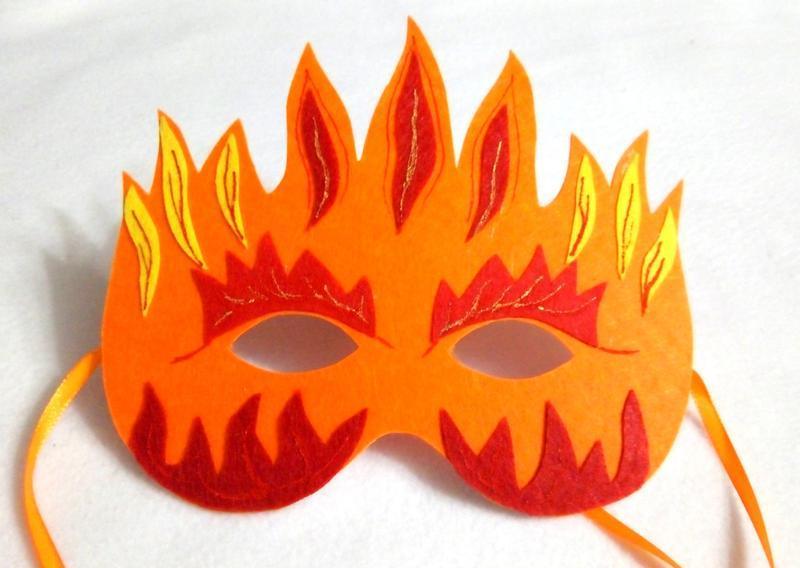образом маска огонь картинки амфитеатр- один шести