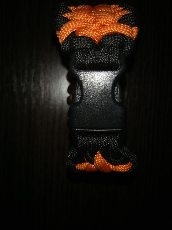 Мужской браслет  Самурай, браслет из паракорда , браслет выживания