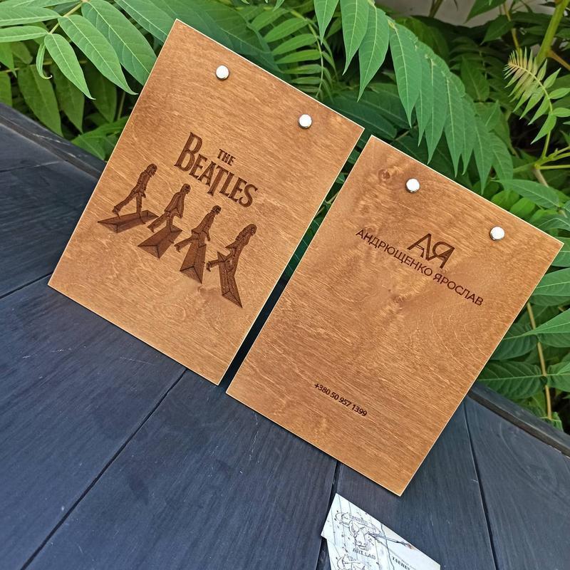 Деревянный планшет с зажимом, планшет для ведущего, планшет для кафе с гравировкой