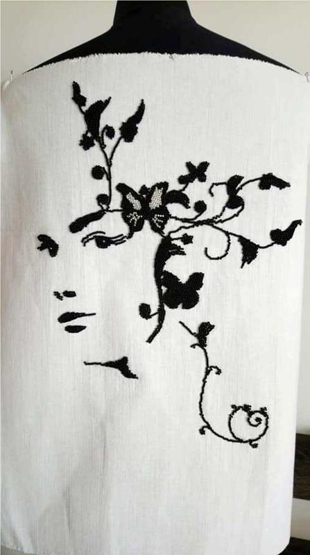 Картина Арт - Дівчина квітка