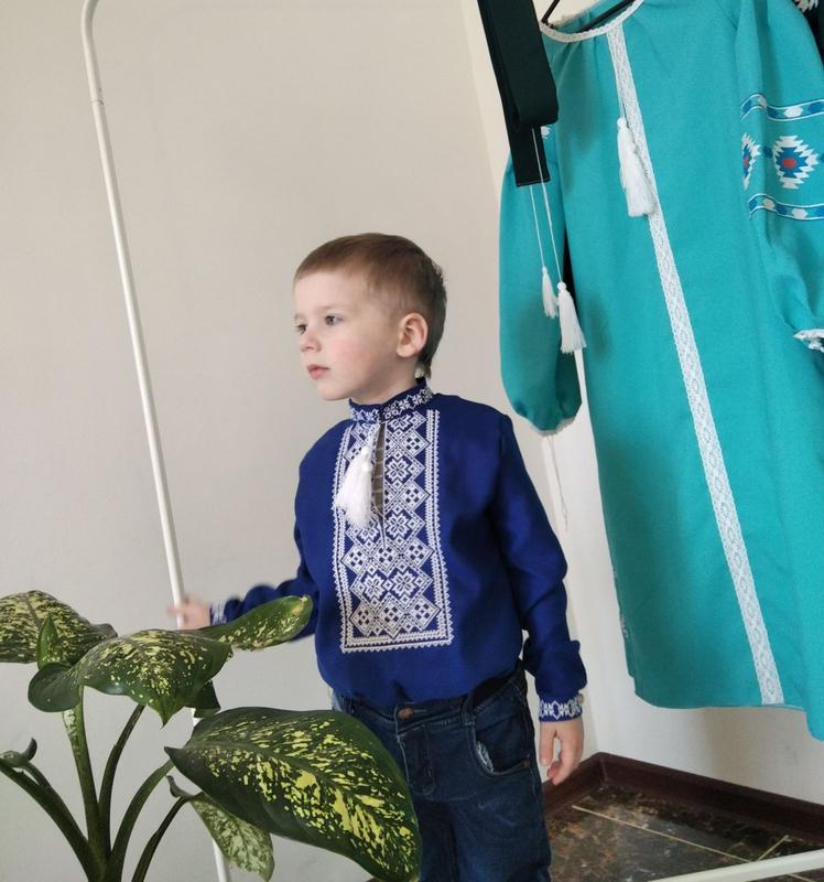 Вишиванка для хлопчика