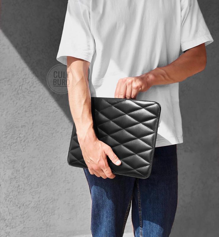 Кожаный чехол для ноутбука