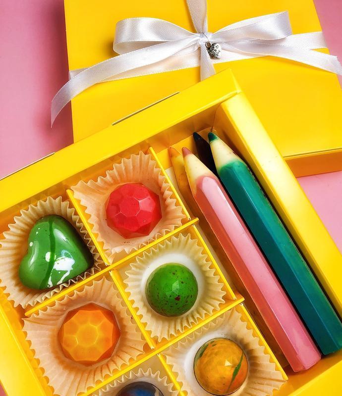 Набор шоколадных конфет Back to school
