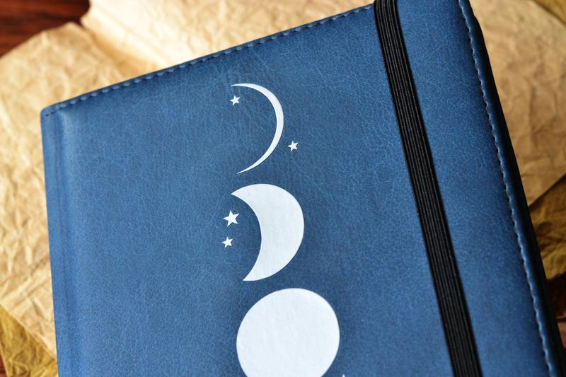 """Блокнот """"Фазы Луны"""". Блокнот в точку с нумерованными страницами"""