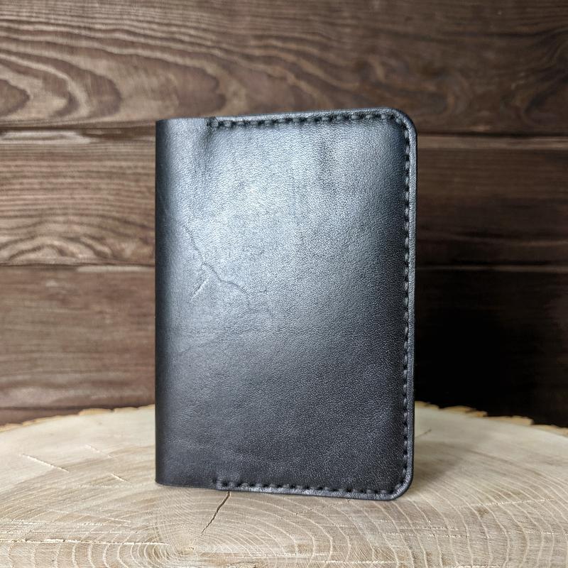 Обложка на паспорт, кожаная обложка для паспорта ручной работы