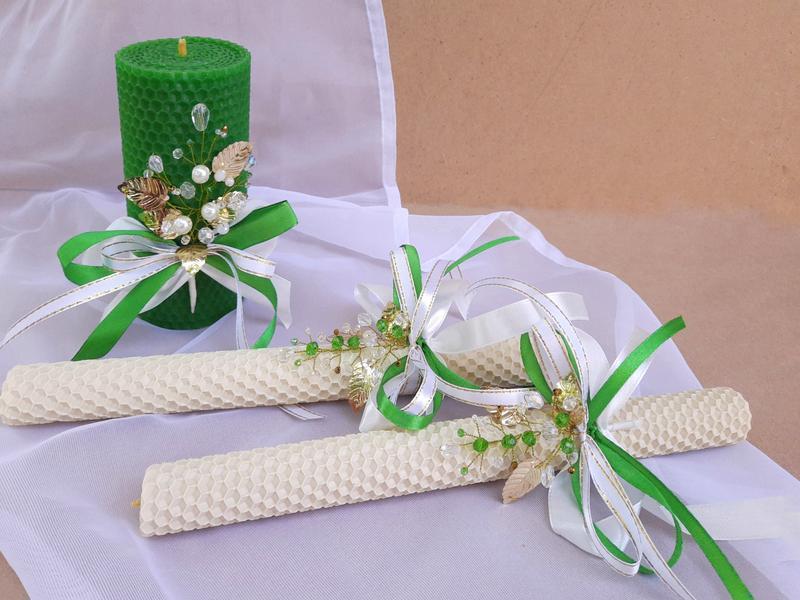 Набор Семейный очаг, набор свадебных свечей