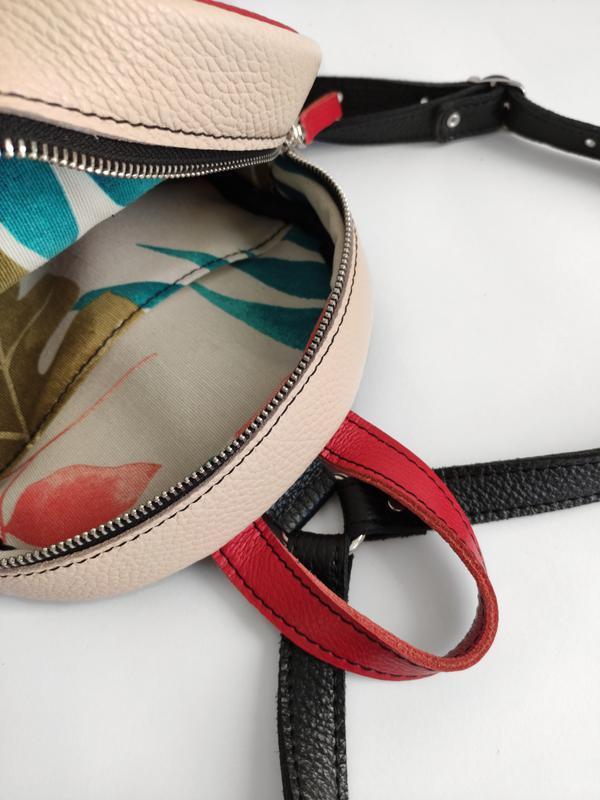 Рюкзак для дітей Мікі Маус . Дитячий шкіряний рюкзак . Дитячий рюкзак з аплікацією .
