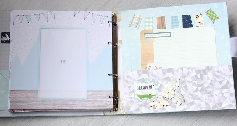 Альбом для хлопчика , бебібук для хлопчика , альбом для малюка , дитячий фотоальбом