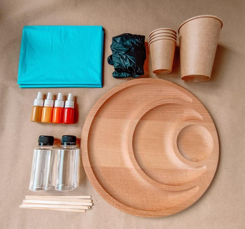 Набор для творчества Epoxy Resin Art Эпоксидная смола, набор для начинающих, сделай сам