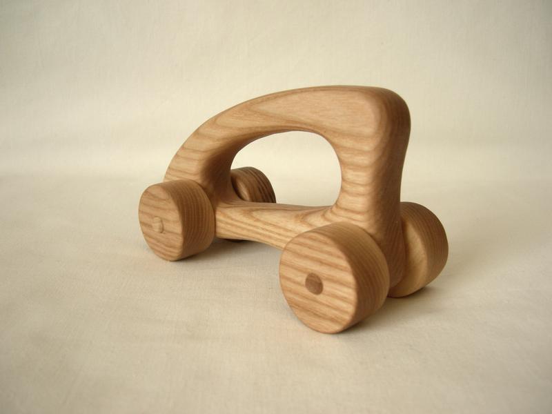 Деревянная машинка «Минивен»