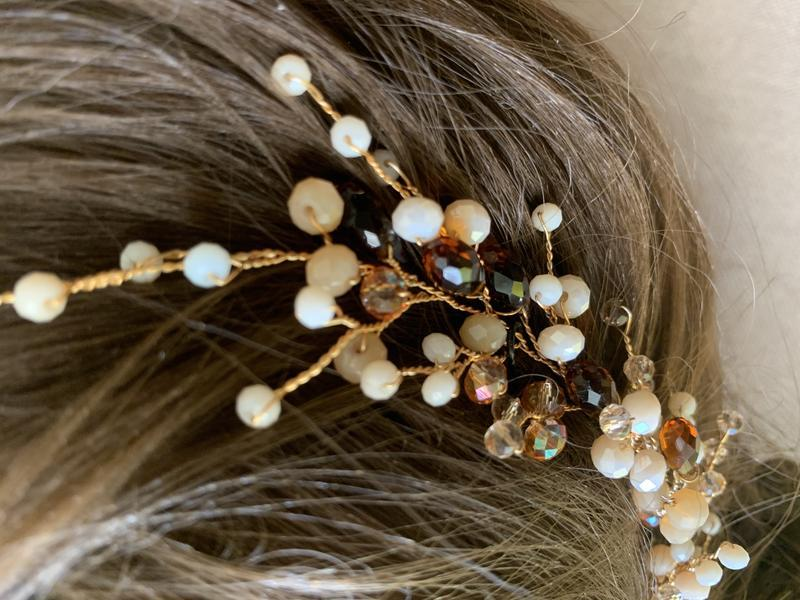 веточка для волос веточка в прическу
