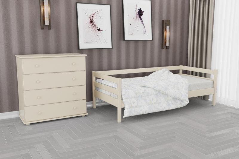 Кровать деревянная односпальная детская и для взрослых.Куна нота агата кадет марио