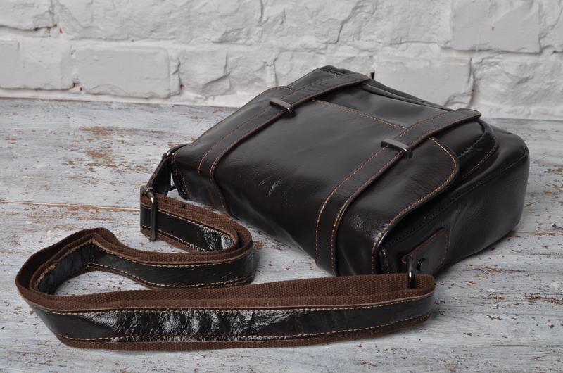 f3728b2a7710 Стильная компактная мужская сумка почтальонка.Ручная работа.100% натуральная  кожа