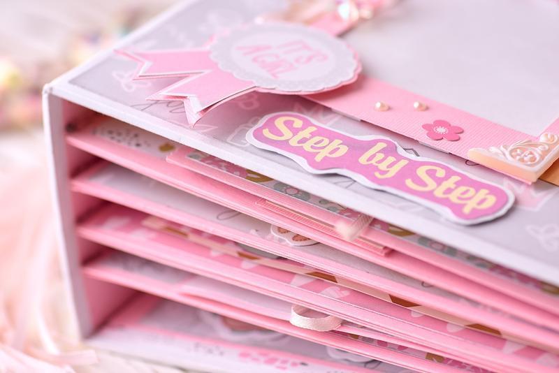 Фотоальбом для девочки, альбом первый год жизни, мамина книга, фотоальбом для новорожденного