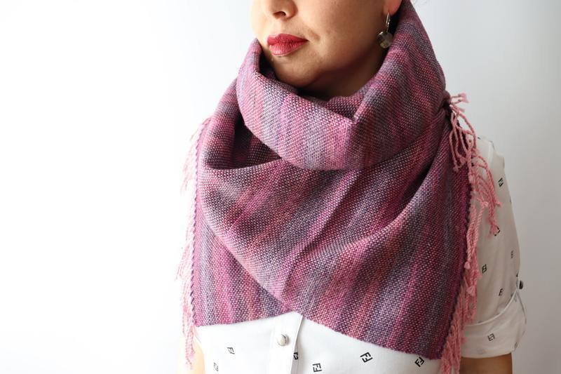 Тканый шарф Purple