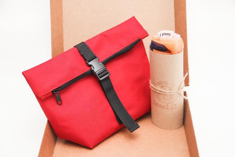 Подарочный набор - термосумка и три сумочки для покупок