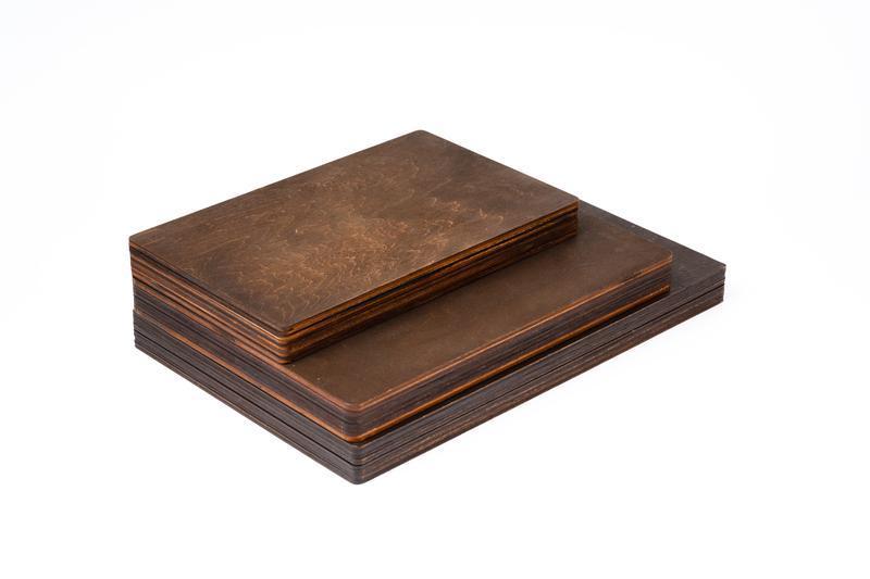 """Коробка под фото и флешку темная [15x21]. Серия """"Classic"""""""