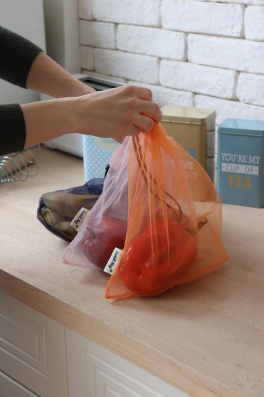 Подарочный набор - ланч бег и мешочки для покупок