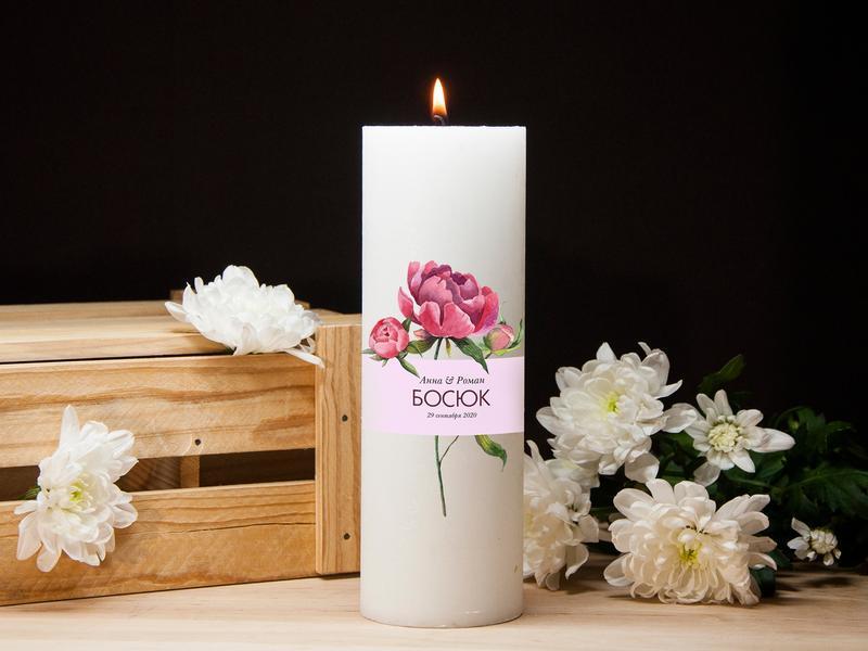 Настольные свечи для романтики с индивидуальной надписью, Свечи для свадьбы, декоративные свечи