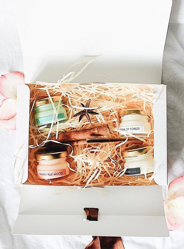 Candles Box / Набор соевых свечей