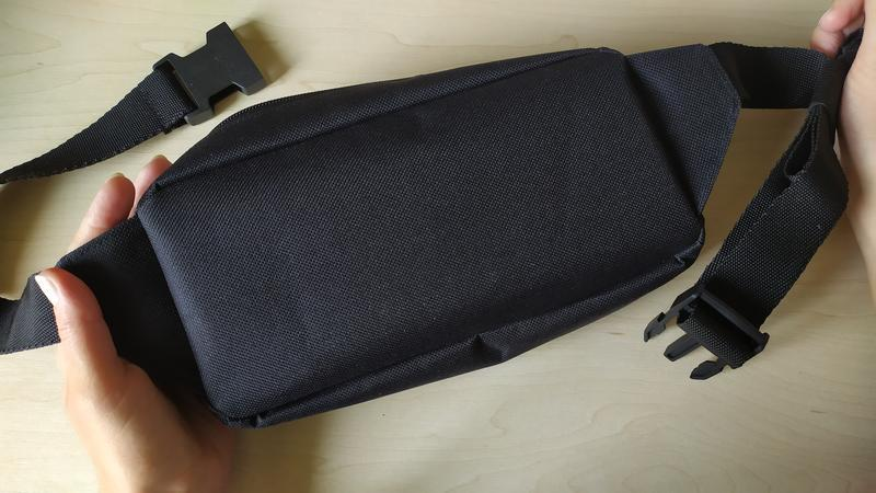 Бананка, сумка на тали,  сумка через плече, бананка водонепроницаемая, поясная сумка