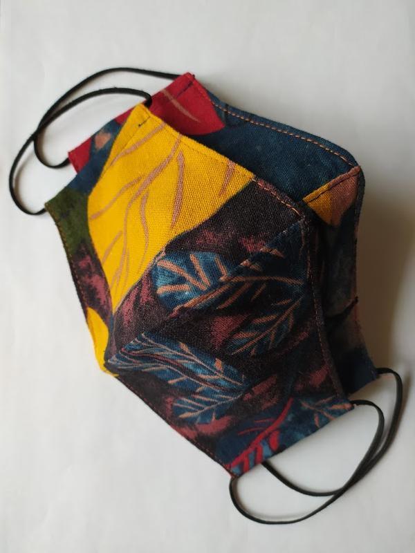 Комплект из двух цветных масок