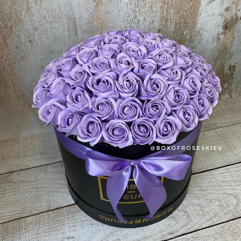 Букет из 75 мыльных роз