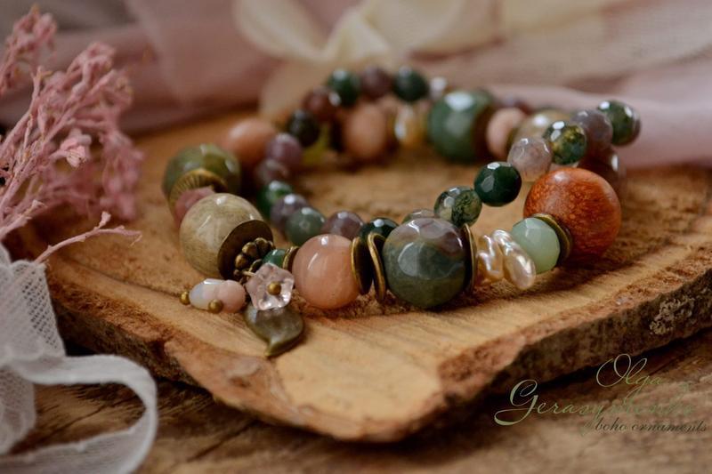 Комплект браслетов ′Сонный март′