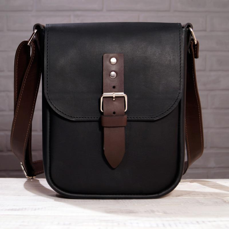 Urban Midi - Кожаная мужская сумка через плечо