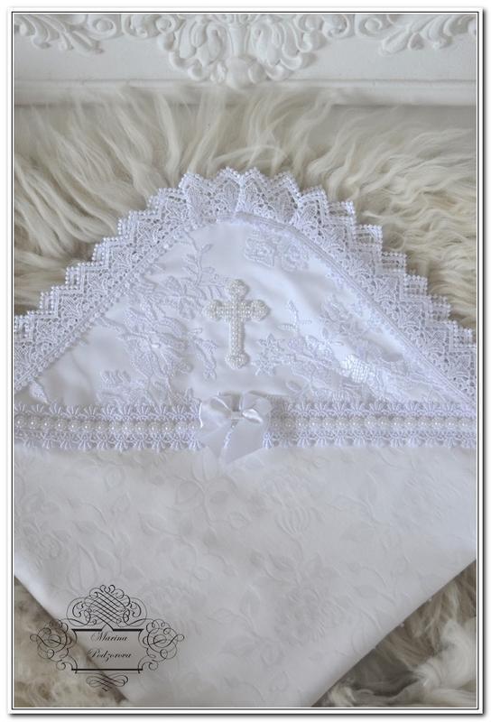 Крыжма для крещения с вышивкой 369