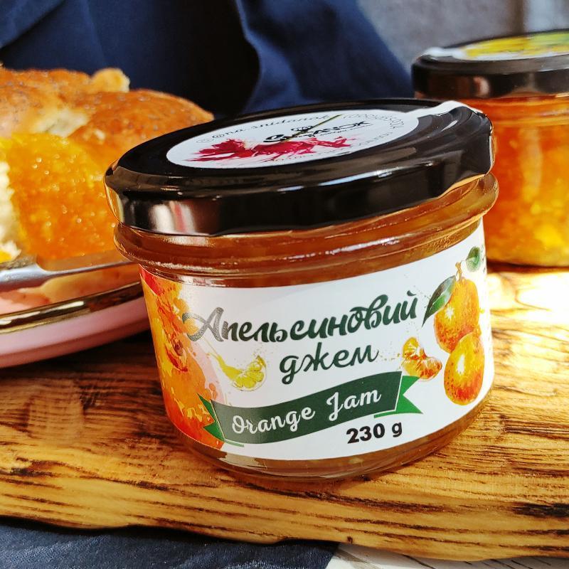 Апельсиновый Джем (230 g) Orange Jam