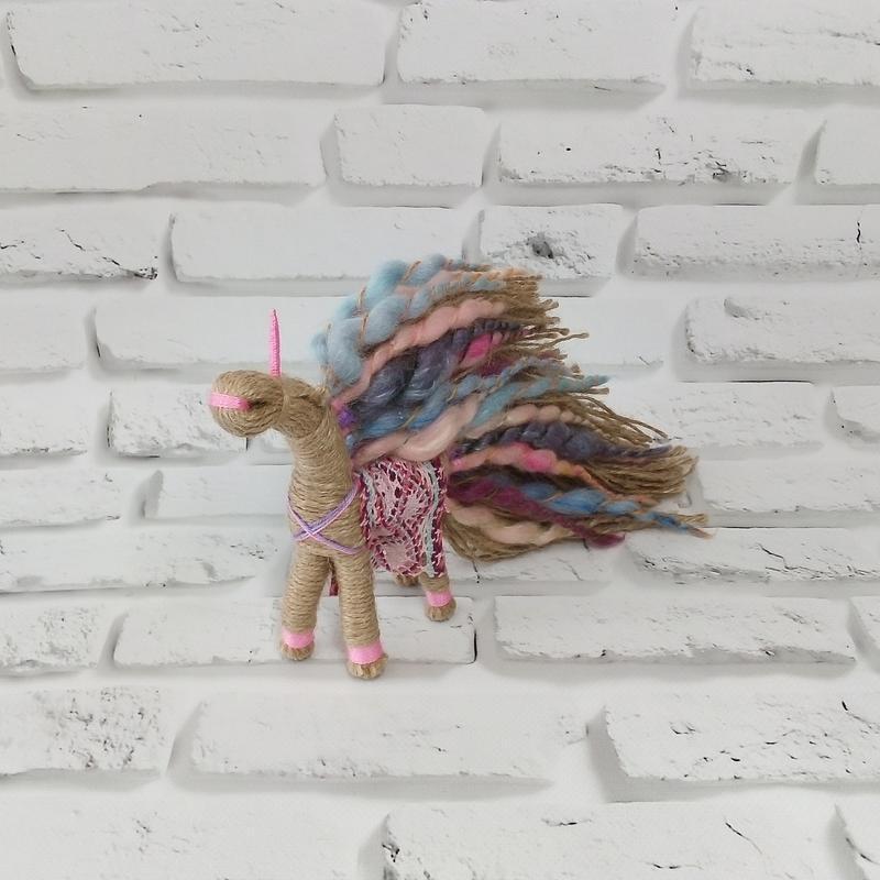Кукла мотанка Единорог