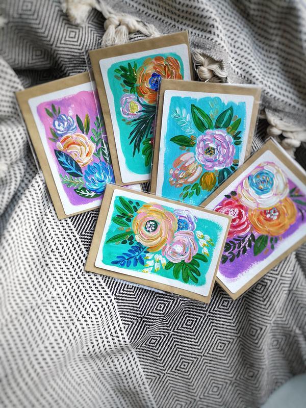 Открытки с цветами, открытки с цветами