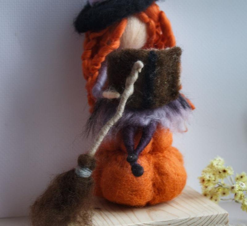 Куколка с тыквой Хеллоуин