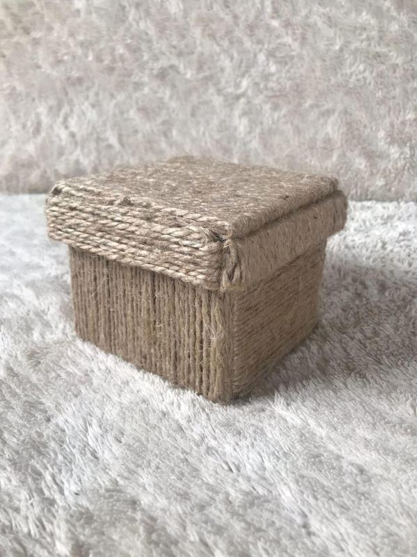 Эко коробочка для хранения украшений
