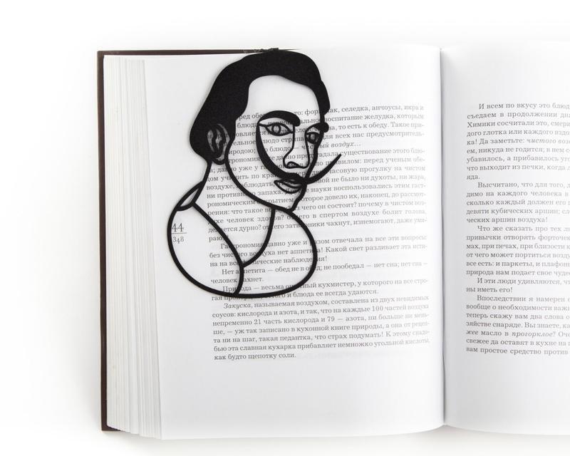 Закладка для книг «Сальвадор Дали»