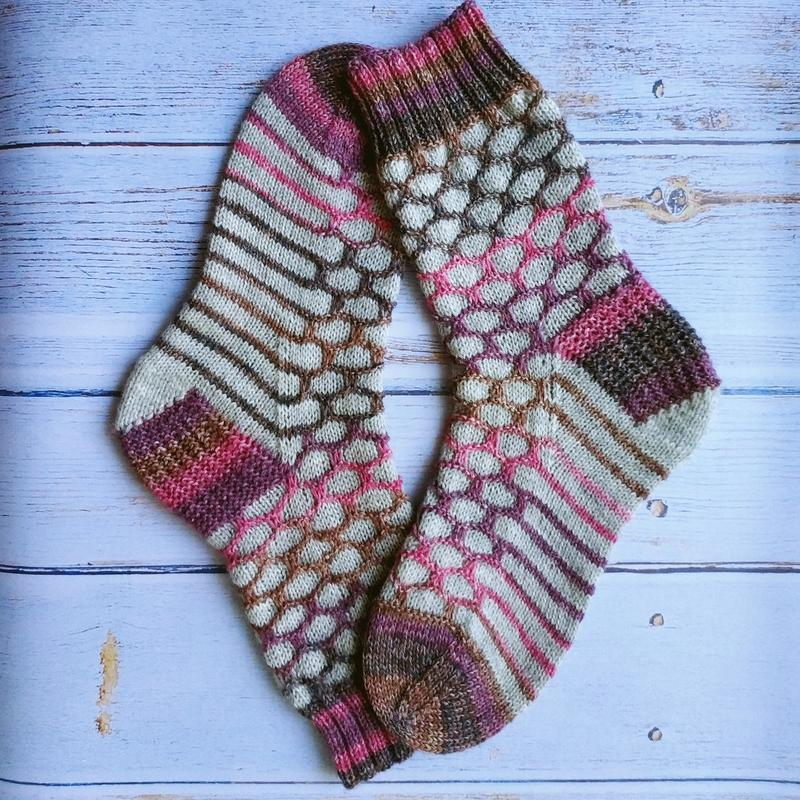 Вязаные носки