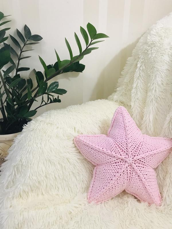 Подушка Звезда, подарок ручной работы