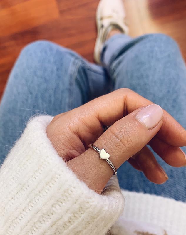 Серебряное кольцо Heart