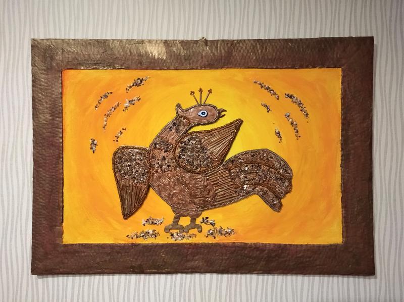"""Настенное панно: """"Феникс - символ возрождения"""""""