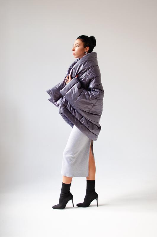 Куртка-трансформер в цвете мокрый асфальт