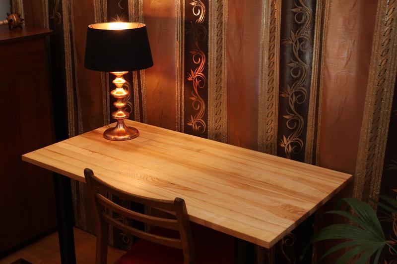 Стол из натурального массива дерева Ясен