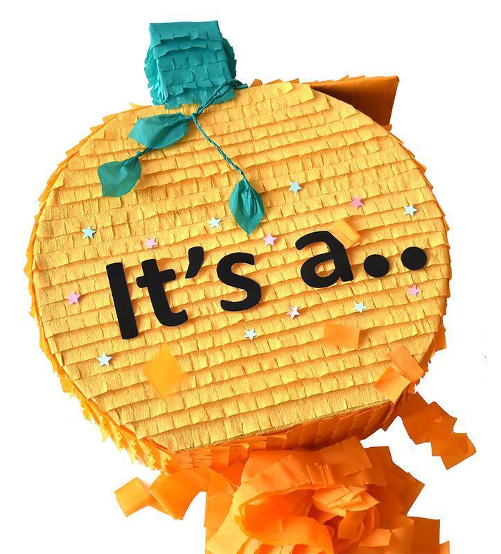 Гендер Пиньята, Тыква Пиньята, Пиньята, Большая Пиньята, Хэллоуин №714765 - купить в Украине на Crafta.ua