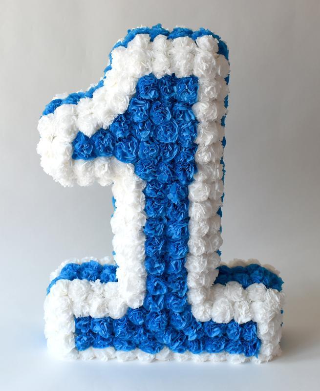 Пиньята Номер Один, Пиньята, Цифра для Дня Рождения, Цифра для фотосессии №714770 - купить в Украине на Crafta.ua