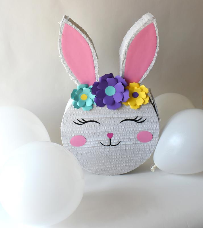 Пиньята Пасхальный кролик, Пиньята для дня рождения, Большая пиньята №714774 - купить в Украине на Crafta.ua