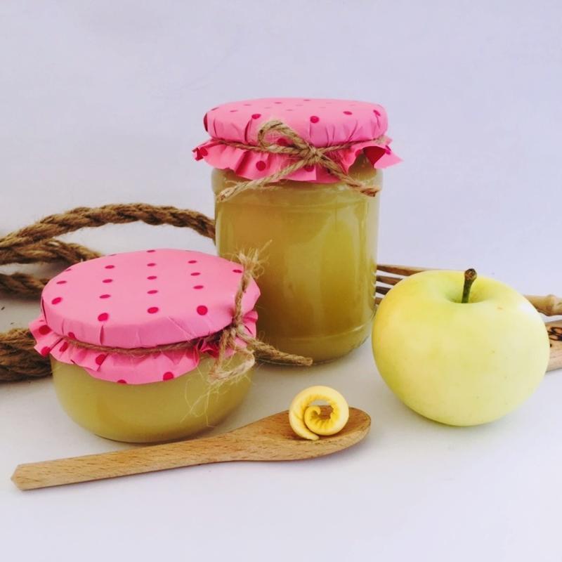 """Джем """"Масло"""" яблочное без сахара"""" (пюре) 250 мл"""
