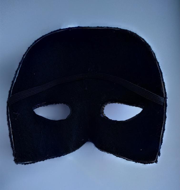 "Маска на Хэллоуин «Santa Muerte» ""Санта Муэрте"""