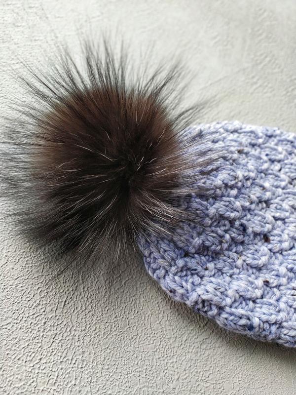 Дитяча шапка, шапка з помпоном