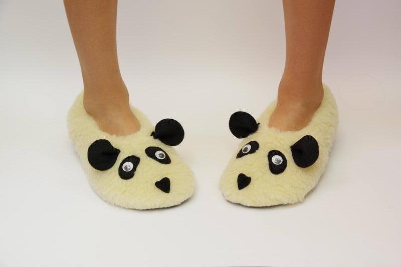 Тапочки  женские Панда